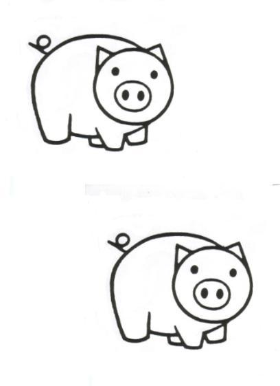 Schweine Ausmalbilder Malvorlagen Animierte Bilder Gifs