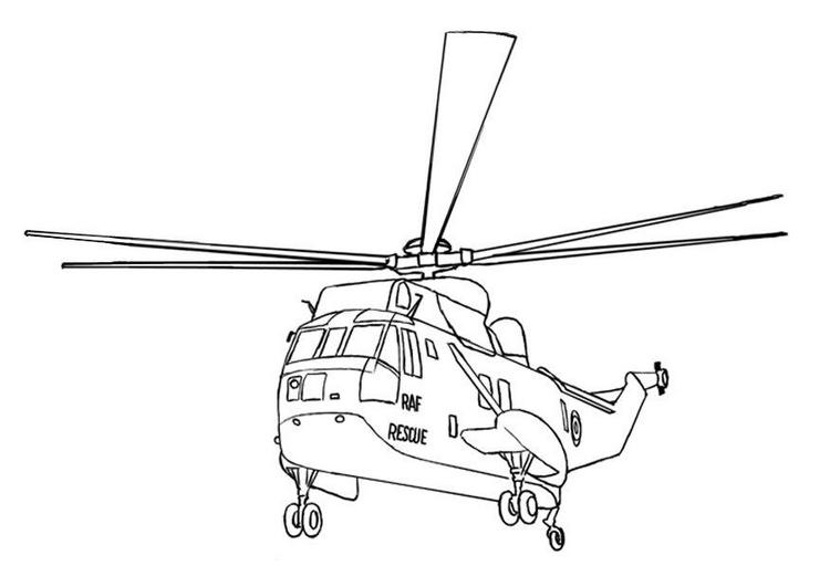 Helikopter Hubschrauber Ausmalbilder Malvorlagen Animierte