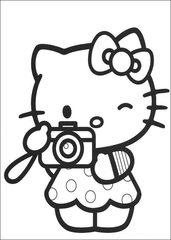 ▷ Hello Kitty Ausmalbilder & Malvorlagen: Animierte Bilder, Gifs ...