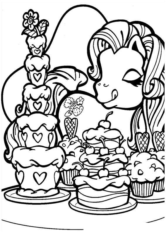 My Little Pony Ausmalbilder Malvorlagen Animierte Bilder Gifs