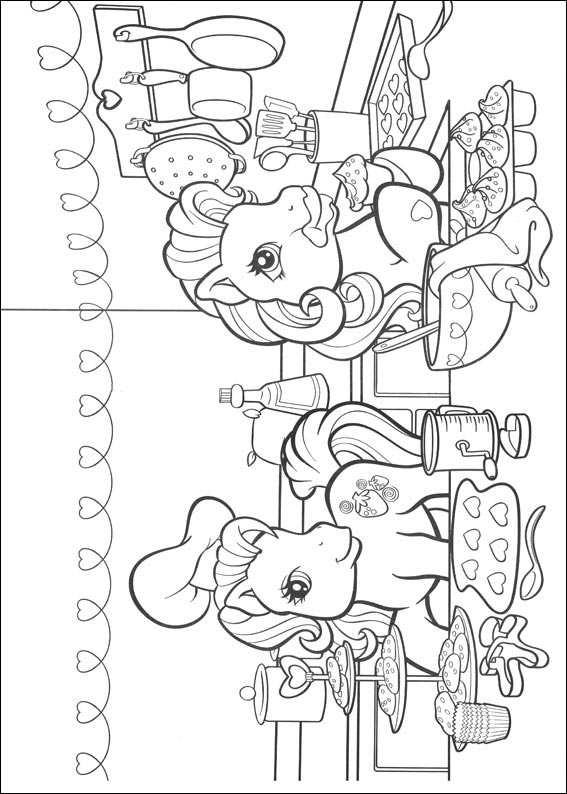 My Little Pony Ausmalbilder Malvorlagen Animierte